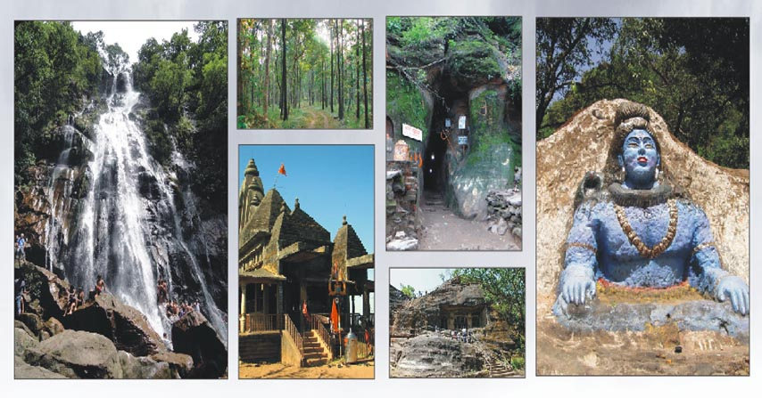 सतपुड़ा की पहाड़ियों के बीच बसा खूबसूरत पर्यटन स्थल पचमढ़ी
